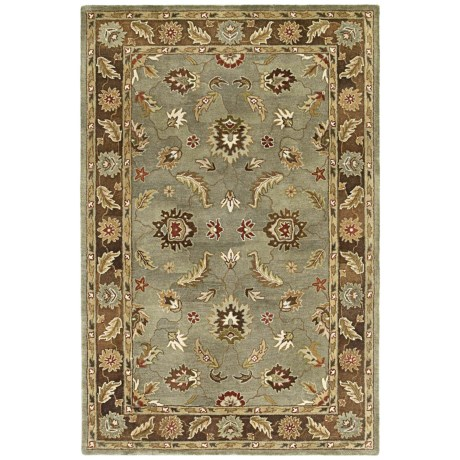 "Kaleen Presidential Picks Wool Area Rug - 5'3""x8' in Bonaventure Spa"