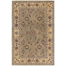 "Kaleen Presidential Picks Wool Area Rug - 5'3""x8' in Gilreath Moss - Closeouts"