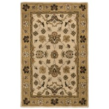 "Kaleen Presidential Picks Wool Area Rug - 5'3""x8' in Laroache Sable - Closeouts"