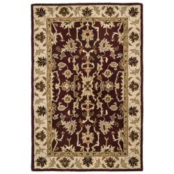 Kaleen Presidential Picks Wool Area Rug - 8x10' in Dyches Ivory