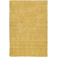 Kaleen Regale Collection Handmade Wool Area Rug - 8x11' in Butterscotch - Closeouts