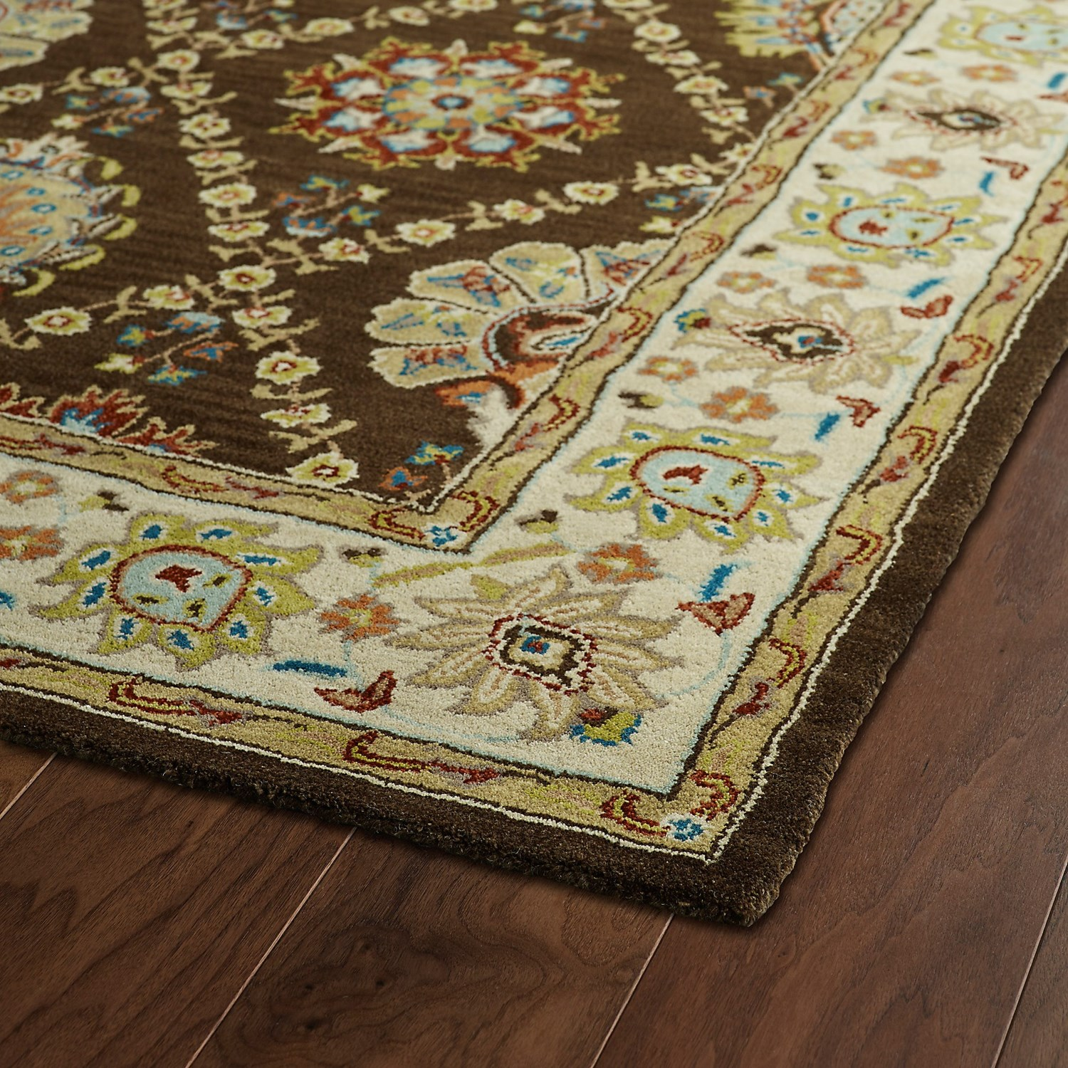 9x12 New Nourison Nourmak Hand Knotted Wool Reversible: Kaleen Taj Collection Area Rug