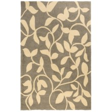 "Kaleen Taos Collection Indoor/Outdoor Rug - 5'x7'6"" in Vineyard Wheat - Closeouts"