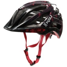 Kali Protectives Avana Enduro Bike Helmet (For Men and Women) in Red - Closeouts