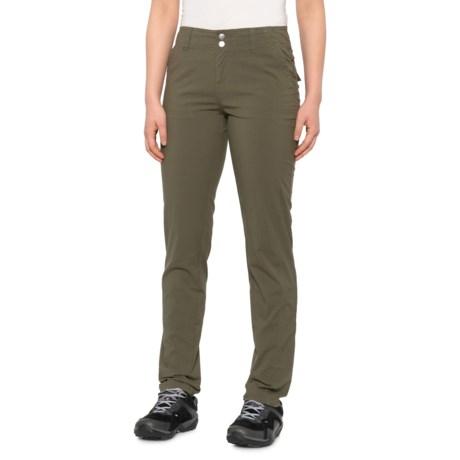 Kalinda Pants - Organic Cotton (For Women) - CARGO GREEN (8 )