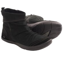 Kalso Earth Bonanza Ankle Boots - Leather (For Women) in Black Vintage Leather - Closeouts