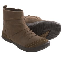 Kalso Earth Bonanza Ankle Boots - Leather (For Women) in Stone Vintage Leather - Closeouts