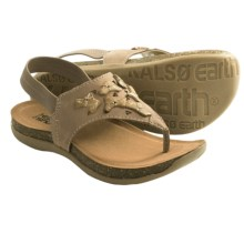 Kalso Earth Chant Sandals (For Women) in Biscuit Leather - Closeouts