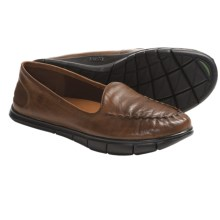 Kalso Earth Dally Shoes - Leather, Slip-Ons (For Women) in Almond Full Grain - Closeouts