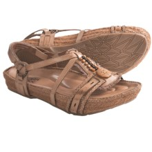 Kalso Earth Embrace Sandals - Leather (For Women) in Sand Calf - Closeouts