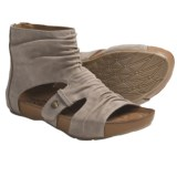 Kalso Earth Eminent Open-Toe Boot Sandals - Nubuck (For Women)