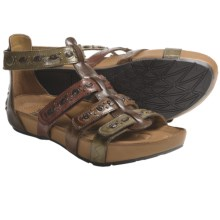 Kalso Earth Empire Sandals - Leather (For Women) in Brown Multi Calf - Closeouts