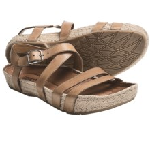Kalso Earth Enlighten Sandals - Leather (For Women) in Sand Calf - Closeouts