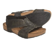 Kalso Earth Enrapture Sandals - Microfiber (For Women) in Black - Closeouts
