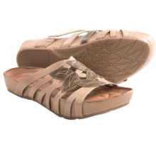 Kalso Earth Enthuse Sandals - Leather (For Women) in Light Camel Calf - Closeouts