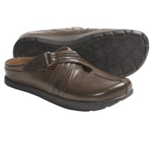 Kalso Earth Fawn Shoes - Leather, Slip-Ons (For Women) in Mahogany Calf - Closeouts