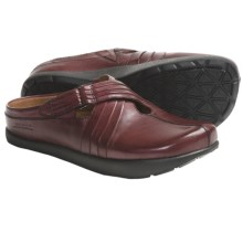 Kalso Earth Fawn Shoes - Leather, Slip-Ons (For Women) in Merlot Calf - Closeouts