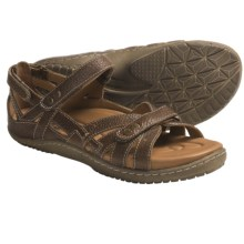 Kalso Earth Implicit Sandals - Leather (For Women) in Almond Leather - Closeouts
