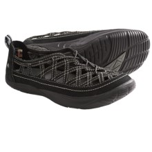 Kalso Earth Innovate 3 Shoes - Leather, Slip-Ons (For Women) in Black Vintage Leather - Closeouts