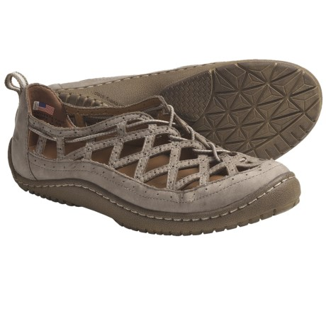 Kalso Earth Innovate Too Shoes - Leather (For Women) in Taupe Vintage Leather