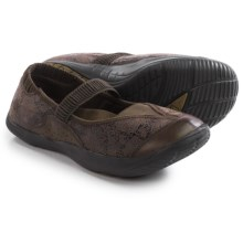 Kalso Earth Intrigue Too Mary Jane Shoes - Leather (For Women) in Bark Suede - Closeouts
