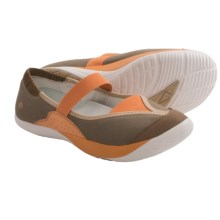 Kalso Earth Intrigue Too Shoes - Mary Janes (For Women) in Powder Khaki Microfiber - Closeouts