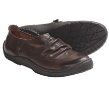 Kalso Earth Invoke Shoes - Leather, Side Zip, Slip-On (For Women) in Sandstone Vintage Leather - Closeouts