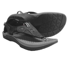 Kalso Earth Mahi Sandals - Leather (For Women) in Black - Closeouts