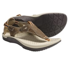 Kalso Earth Mahi Sandals - Leather (For Women) in Moss - Closeouts
