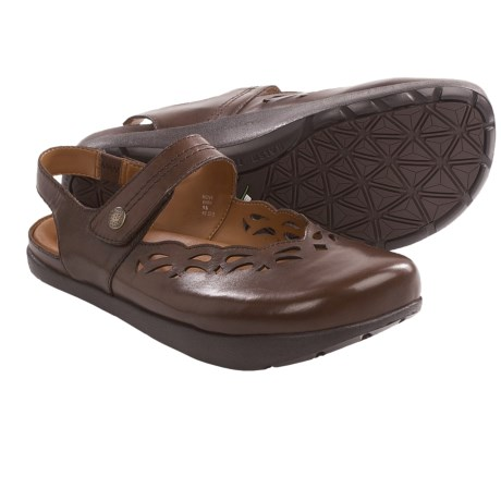Kalso Earth Move Mary Jane Shoes - Leather (For Women) in Bark Calf