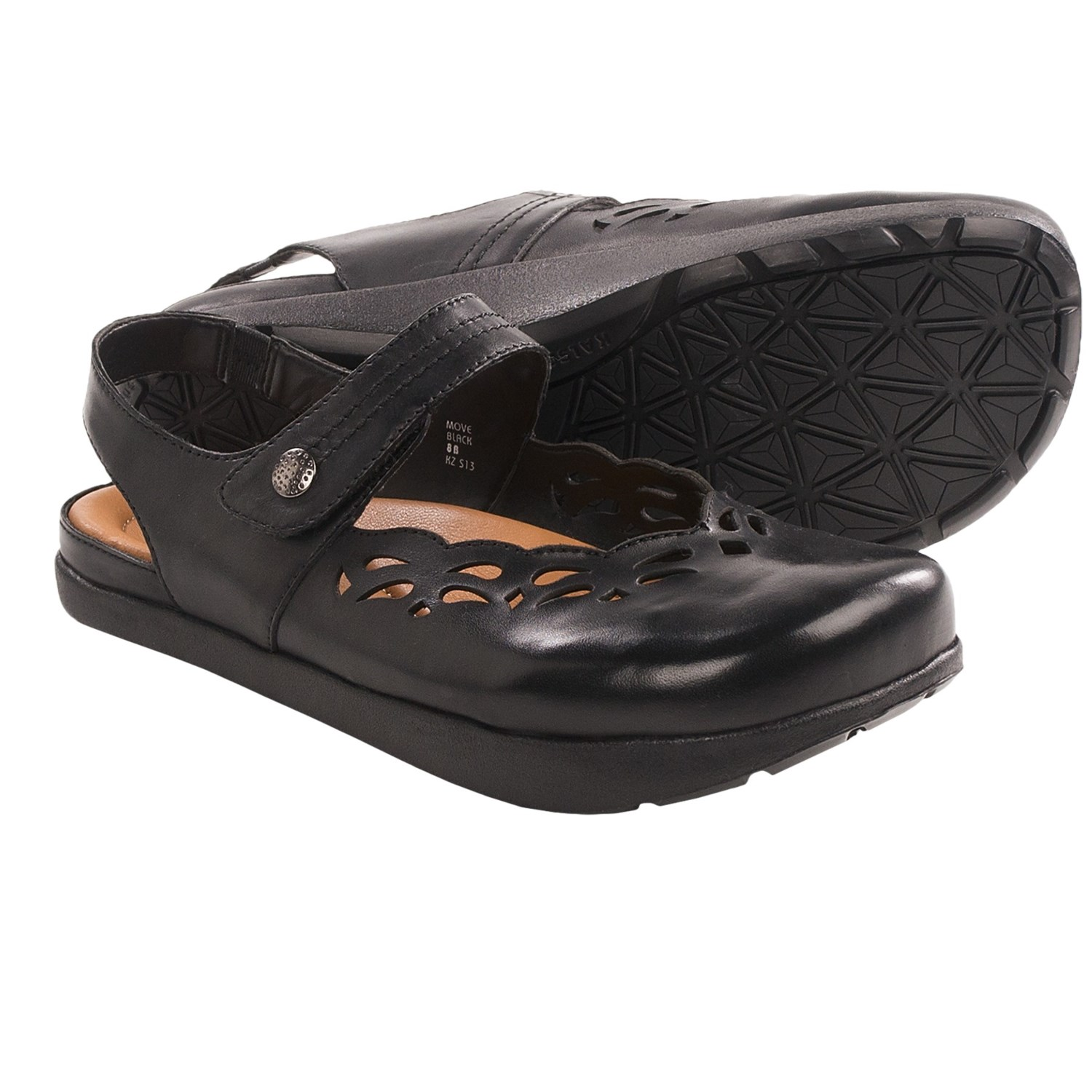 Kalso Earth Move Mary Jane Shoes - Leather (For Women) in Black Calf