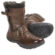 Kalso Earth Outlier Boots - Leather (For Women) in Almond Leather - Closeouts