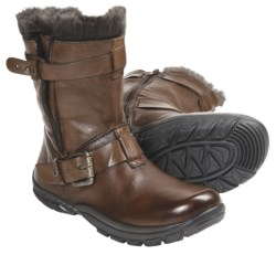 Kalso Earth Outlier Boots - Leather (For Women) in Almond Leather