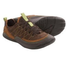 Kalso Earth Pace Lace-Up Shoes (For Women) in Bark Nubuck - Closeouts