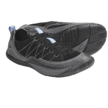 Kalso Earth Pace Lace-Up Shoes (For Women) in Black Soft Buck - Closeouts