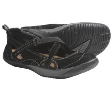 Kalso Earth Penchant Shoes - Leather (For Women) in Black Nubuck - Closeouts