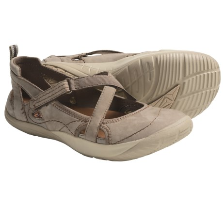 Kalso Earth Penchant Shoes - Leather (For Women) in Light Khaki Nubuck