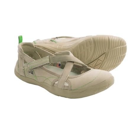 Kalso Earth Penchant Shoes - Leather (For Women) in Rock Ridge Nubuck