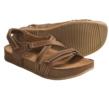 Kalso Earth Ramble Sandals - Leather (For Women) in Honey Vintage Leather - Closeouts
