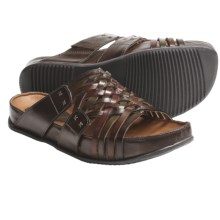 Kalso Earth Rhapsody Sandals - Leather (For Women) in Brown Multi Calf - Closeouts