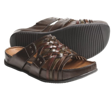 Kalso Earth Rhapsody Sandals - Leather (For Women) in Brown Multi Calf