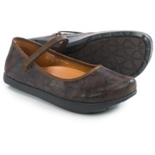 Kalso Earth Solar 3 Mary Jane Shoes - Leather (For Women) in Bark Suede - Closeouts