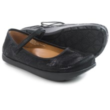 Kalso Earth Solar 3 Mary Jane Shoes - Leather (For Women) in Black Suede - Closeouts