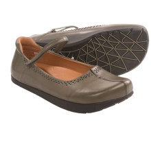 Kalso Earth Solar Too Mary Jane Shoes - Leather (For Women) in Grey Calf - Closeouts