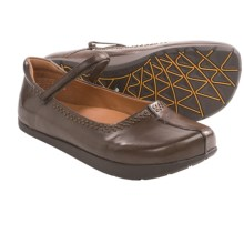 Kalso Earth Solar Too Mary Jane Shoes - Leather (For Women) in Mahogany Calf - Closeouts