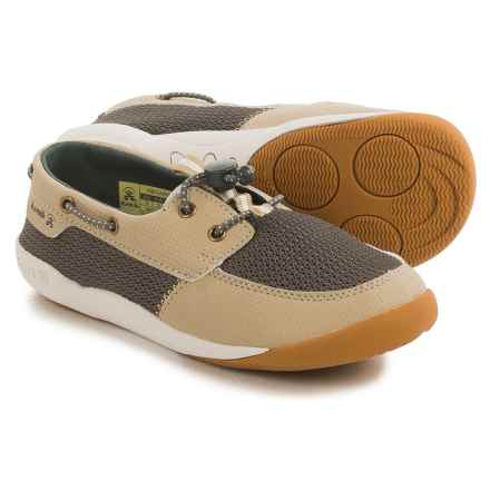 Kamik Aboard Shoes (For Little and Big Kids) in Beige - Closeouts
