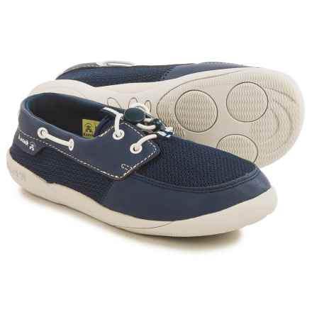 Kamik Aboard Shoes (For Little and Big Kids) in Navy - Closeouts