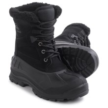 Kamik Acadia Pac Boots - Suede, Waterproof, Insulated (For Women) in Black - Closeouts