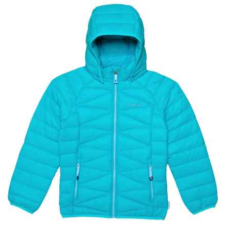 Kamik Adele Down Jacket (For Big Girls) in Capri - Closeouts