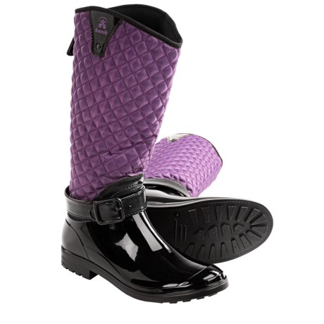 Kamik Alexandra Boots - Insulated, Fleece Lining (For Women) in Plum